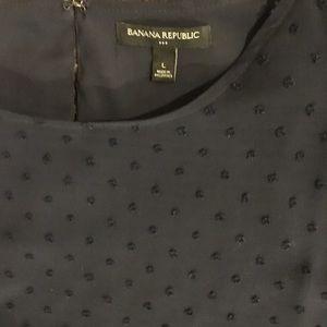 Banana Republic Tops - Banana Republic navy blouse